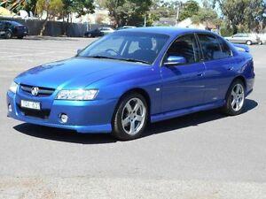 2005 Holden Commodore VZ 05 Upgrade SV6 Blue 5 Speed Auto Active Select Sedan Maidstone Maribyrnong Area Preview