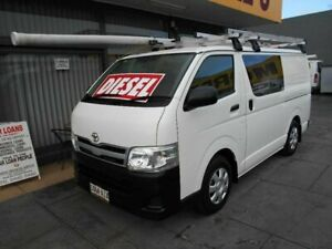 2010 Toyota HiAce KDH201R MY11 Upgrade LWB White 5 Speed Manual Van West Hindmarsh Charles Sturt Area Preview