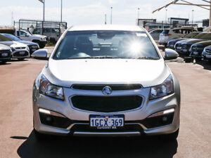 2015 Holden Cruze JH MY15 SRi V Silver 6 Speed Manual Sedan