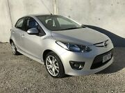 2009 Mazda 2 DE Genki Silver 4 Speed Automatic Hatchback Frankston North Frankston Area Preview