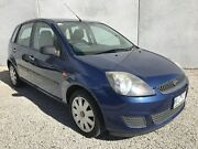 2008 Ford Fiesta WQ LX Blue 5 Speed Manual Hatchback Frankston North Frankston Area Preview