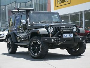 2011 Jeep Wrangler JK MY2011 Unlimited Sport Black 6 Speed Manual Softtop Pearce Woden Valley Preview