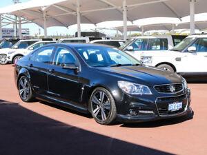 2014 Holden Commodore VF SS Black 6 Speed Manual Sedan
