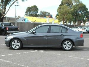 2005 BMW 320i E90 Grey 6 Speed Steptronic Sedan Maidstone Maribyrnong Area Preview