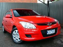 2008 Hyundai i30 FD SX Red 4 Speed Automatic Hatchback Fawkner Moreland Area Preview