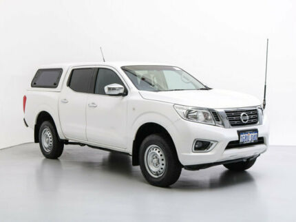 2016 Nissan Navara NP300 D23 RX (4x4) White 7 Speed Automatic Double Cab Utility Jandakot Cockburn Area Preview