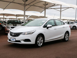 2017 Holden Astra BL MY17 LS Summit White 6 Speed Automatic Sedan
