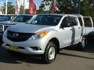 2012 Mazda BT-50 XT Hi-Rider (4x2) Silver 6 Speed Automatic Dual Cab Utility South Nowra Nowra-Bomaderry Preview