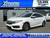 2016 HONDA CIVIC EX SEDAN CVT  *INSTANT APPROVAL* $249/BW!