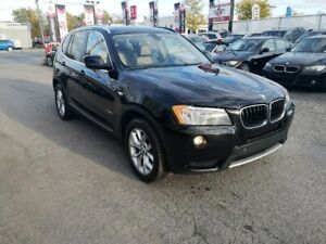 2013 BMW X3 28i AWD. AUTO, CUIR, TOIT PANO, GROUP ELECT. 2.0L
