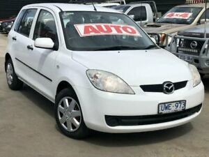 2007 Mazda 2 DY MY05 Upgrade Neo White 4 Speed Auto Activematic Hatchback