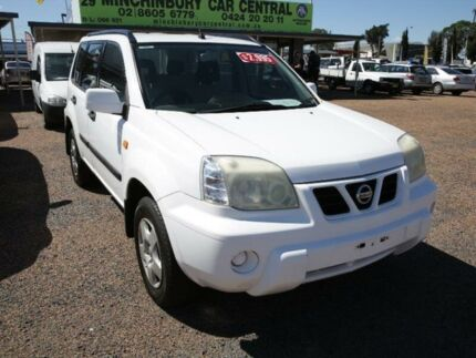 2002 Nissan X-Trail T30 ST White 5 Speed Manual Wagon Colyton Penrith Area Preview