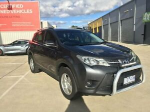 2014 Toyota RAV4 ALA49R MY14 Upgrade GX (4x4) Graphite 6 Speed Automatic Wagon Kilmore Mitchell Area Preview