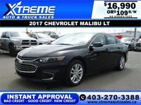 2017 CHEVROLET MALIBU LT *INSTANT APPROVAL* $0 DOWN $109/BW! Calgary Alberta Preview