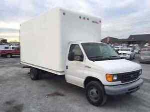2003 Ford E-350 Cube Van 7.3 L Bulletproof Power-stroke Diesel
