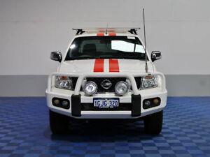 2012 Nissan Navara D40 MY12 ST-X 550 (4x4) White 7 Speed Automatic Dual Cab Utility