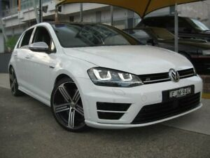 2015 Volkswagen Golf AU MY15 R White 6 Speed Direct Shift Hatchback
