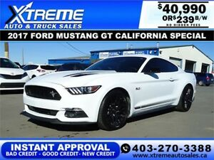 Ford Mustang Gt California Special  Down
