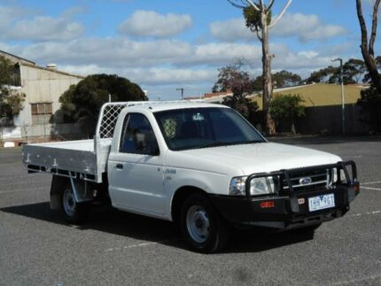 2006 Ford Courier PH GL White 5 Speed Manual Cab Chassis Braybrook Maribyrnong Area Preview