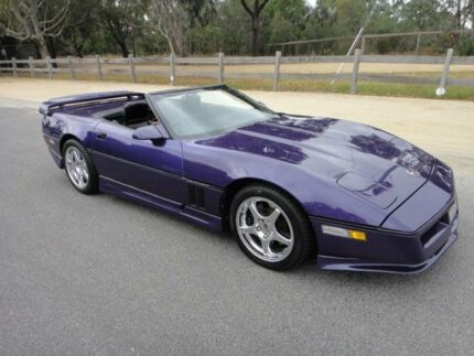 1988 Chevrolet Corvette C4 Kwikasair Violet Automatic Mordialloc Kingston Area Preview