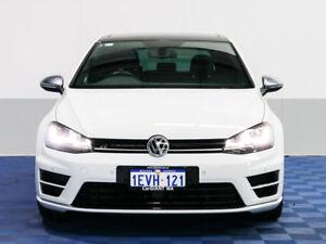 2015 Volkswagen Golf AU MY16 R White 6 Speed Direct Shift Hatchback