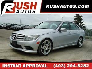 2011 Mercedes Benz C-Class C350 4MATIC  *$0 DOWN* $119 B/W APPLY