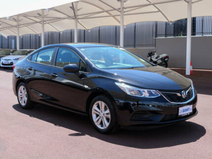 2017 Holden Astra BL MY17 LS Mineral Black 6 Speed Automatic Sedan