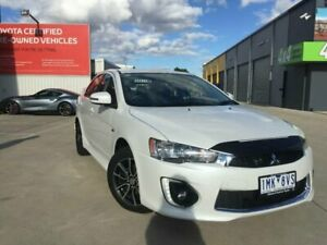 2017 Mitsubishi Lancer CF MY17 ES Sport White 6 Speed CVT Auto Sequential Sedan Kilmore Mitchell Area Preview