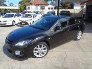 2009 Mazda 6 GH MY09 Luxury Dark Grey 5 Speed Auto Activematic Hatchback Sylvania Sutherland Area Preview