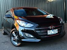 2015 Hyundai i30 GD3 Series II MY16 Active X Black 6 Speed Manual Hatchback Fawkner Moreland Area Preview