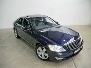 2006 Mercedes-Benz S500 221 Tanzanite Blue 7 Speed Automatic G-Tronic Sedan Petersham Marrickville Area Preview
