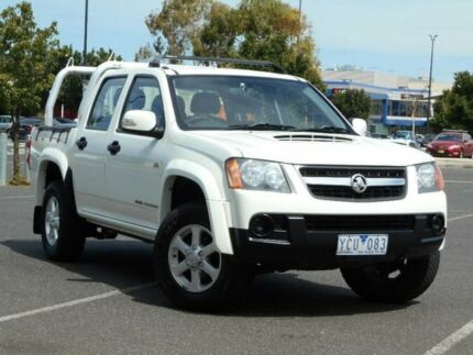 2010 Holden Colorado RC MY11 LX-R (4x4) White 4 Speed Automatic Crew Cab Pickup Braybrook Maribyrnong Area Preview