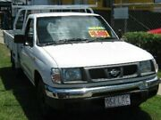 2000 Nissan Navara D22 S3 DX White 5 Speed Manual Cab Chassis Bungalow Cairns City Preview