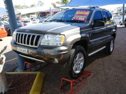 2004 Jeep Grand Cherokee WG MY2004 Vision Series Limited Grey 5 Speed Automatic Wagon