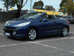 2007 Peugeot 207 CC 1.6 Blue 5 Speed Manual Cabriolet Maidstone Maribyrnong Area Preview