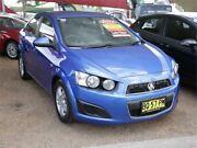 2012 Holden Barina TM MY13 CD Blue 6 Speed Automatic Sedan Mount Druitt Blacktown Area Preview
