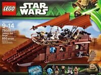 Lego Star Wars Jabba's Barge Retired Rare *NEW*