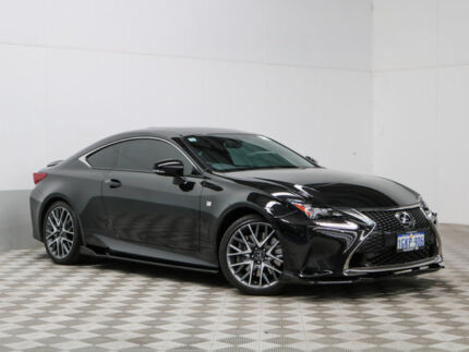 2015 Lexus RC350 GSC10R F Sport Black 8 Speed Automatic Coupe