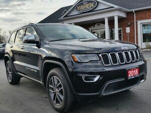 2018 Jeep Grand Cherokee Limited 4x4, NAV, Pano Roof, Leather He