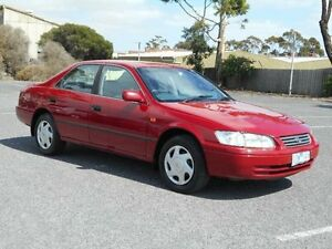 1999 Toyota Camry MCV20R Conquest Red 4 Speed Automatic Sedan Maidstone Maribyrnong Area Preview