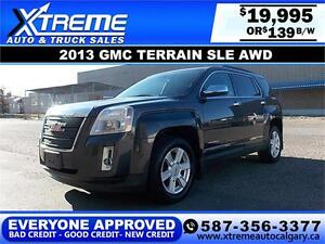 2013 GMC Terrain SLE AWD $139 BI-WEEKLY APPLY NOW DRIVE NOW