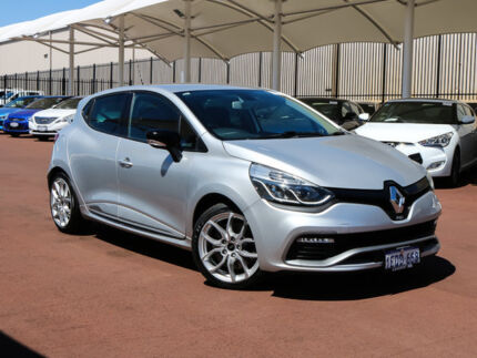 2014 Renault Clio X98 RS 200 Sport Silver 6 Speed Automatic Hatchback