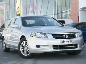 2010 Honda Accord 8th Gen MY10 VTi Silver 5 Speed Sports Automatic Sedan Pearce Woden Valley Preview