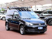 2014 Volkswagen Caddy 2K MY13 TDI250 Black 7 Speed Auto Direct Shift Van Jandakot Cockburn Area Preview