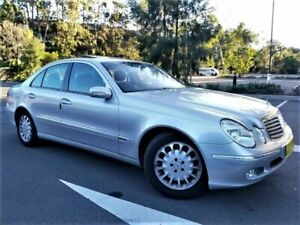 2003 Mercedes-Benz E-Class W211 E320 Elegance Brilliant Silver 5 Speed Sports Automatic Sedan Five Dock Canada Bay Area Preview