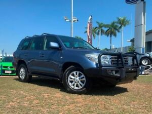 2009 Toyota Landcruiser VDJ200R MY10 Sahara Blue 6 Speed Sports Automatic Wagon Berrimah Darwin City Preview