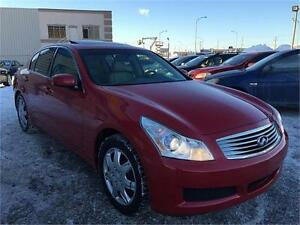 2007 Infiniti G35X Luxury AWD, FINANCEMENT MAISON
