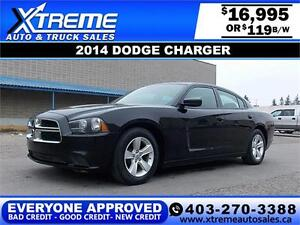 2014 Dodge Charger $119 bi-weekly APPLY NOW DRIVE NOW