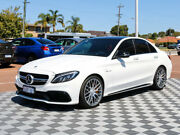 2017 Mercedes-Benz C63 W205 807+057MY AMG SPEEDSHIFT MCT S White 7 Speed Sports Automatic Sedan Alfred Cove Melville Area Preview
