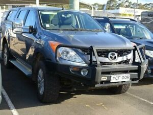 2014 Mazda BT-50 MY13 XTR Hi-Rider (4x2) Grey 6 Speed Automatic Dual Cab Utility South Nowra Nowra-Bomaderry Preview